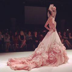 Pink frothy fashion goodness; Yumi Katsura