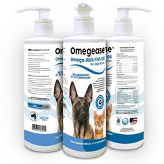 Boosting Your Pet's Diet with Omegease Fish Oil - product review