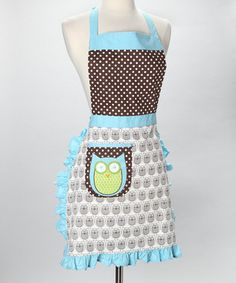 Ahhh! I've been wanting an apron! And this one has AN OWL on it!