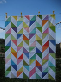 """'Happy Days' quilt Emilia wants to make herself a """"soft"""" quilt, as soft as her baby one."""