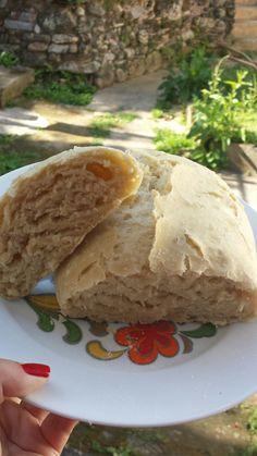 Pão caseiro de fermentação lenta