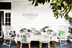 10 outdoor table setting ideas gallery 1 of 10 - Homelife