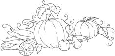Vintage Thanksgiving transfers from qisforquilter.com, 3 more on this page besides this one.