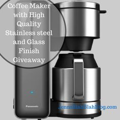 Coffee Maker with High Quality Stainless steel and Glass Finish Giveaway #Giveaway: Enter To #Win Stainless Steel and Glass Coffee Maker by ...