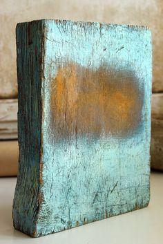 Christian Hetzel a - rusty field 2015 x 23 x cm - Mischtechnik auf Holz , Abstract Sculpture, Sculpture Art, Abstract Art, Sculptures, Modern Art, Contemporary Art, Encaustic Painting, Art Plastique, Oeuvre D'art