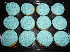 tiffany blue mini cupcakes