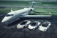 The Holy Trinity and a Private Jet