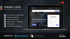 Swan Lake - Marketing Instapage Template (Instapage) - http://wpskull.com/swan-lake-marketing-instapage-template-instapage/wordpress-offers