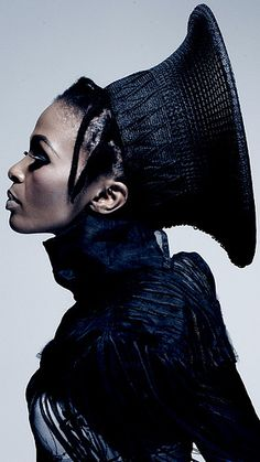 Modern Xhosa Wedding Hat. Better, more beautiful and more meaningful than anything ever seen in haute couture.