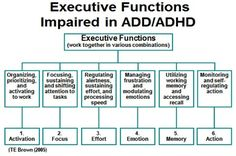 Executive Functions ADD/ADHD