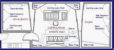 record studio dimensions - Google Search