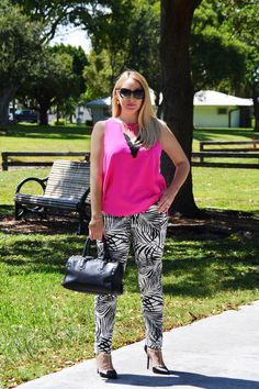 Fashion | Vibrant Day-to-Night | The MIAMI Rose #OOTD