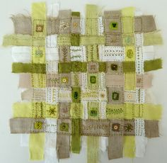 Love this idea.  Check out the rest of her stuff on Flickr... very inspirational for mixed media.