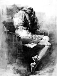 Figure drawing professor:Henry Yan Figure drawings (Sapotille)
