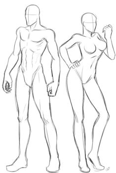 Anatomy Drawing Reference Drawing human figure - a great template for fashion design drawings. Human Body Drawing, Body Reference Drawing, Human Figure Drawing, Figure Sketching, Art Reference Poses, Guy Drawing, Anatomy Reference, Drawing People, Drawing Stuff