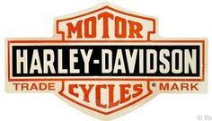 Harley-Davidson® Bar and Shield Tin Sign