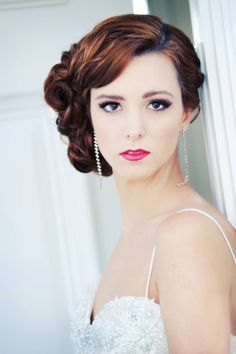 Hair and make up by Tammy Gamso at fresh salon's Bloom. www.sarasotabrides.com
