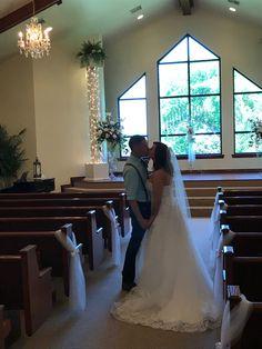 "Just said ""I do."" Arbuckle Wedding Chapel—we celebrate Love."