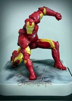 Fabulous Iron Man Cake made by Dolce Favola