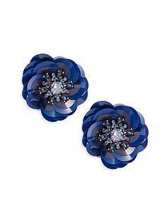 Kate Spade New York Snowy Nights Crystal Stud Earrings
