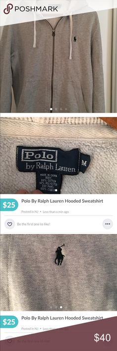 Polo by Ralph Lauren hooded zippered sweatshirt Polo hooded zippered sweatshirt in perfect condition. Polo by Ralph Lauren Other