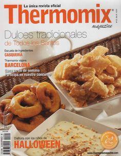 Revista thermomix nº25 dulces tradicionales de todos los santos