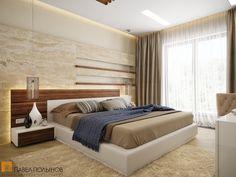 Интерьер спальни с деревянными элементами и плотными шторами / living room / living room paint / living room decor / living room interior design / #design #interior #homedecor #interiordesign