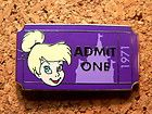 ADMIT ONE TICKET 1971 PWP Disney Pin Tinker Bell From MICKEYS CIRCUS 2012 #EasyNip