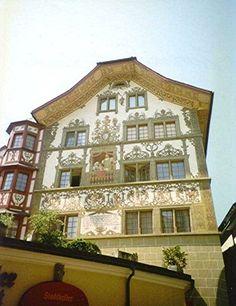 The Alpine Restaurant, Lucerne, Switzerland