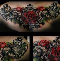 Love the rose and filigree