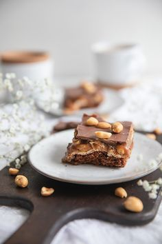 Snicker Brownies, Food And Drink, Sweets, Snacks, Baking, Desserts, Tailgate Desserts, Appetizers, Deserts