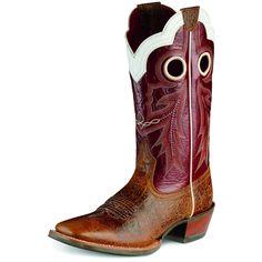 Ariat Adobe Clay Wildstock Square Toe Boot