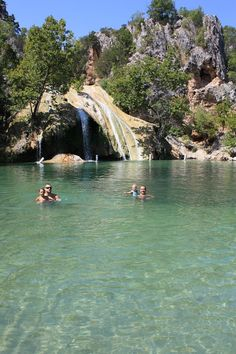 Turner Falls, Oklahoma (waterslides, falls, pools)