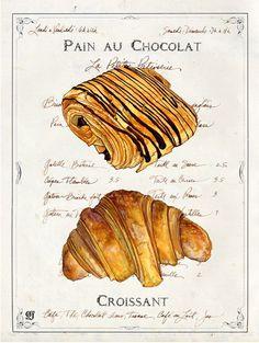 Joyner -Pastry croissant