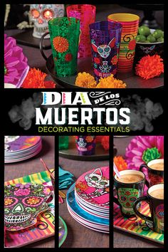 Day of the Dead / Dia de los Muertos decor ideas for your home. Available at HEB.com or in store at select H-E-B locations.