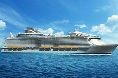 Royal Caribbean's Harmony of the Seas could be World's biggest cruise ship in April 2016