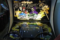 Death Race - 1976.  The first video game where the main purpose of the game is to kill humanoids.  You ran them over with cars, they turned into tombstones that were then obstacles in the game.  The game was not bought by many arcades because of it's controversial content and faded into history.
