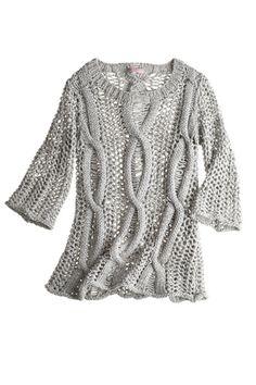 Shoshana Handknit Sweater  by CALYPSO St. Barth