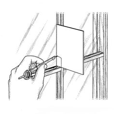 Repairing Window Muntins: Step 1   Norm Abram's Best Tricks of the Trade   This Old House