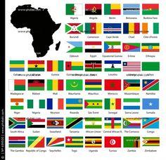bandeiras da africa.#JORGENCA