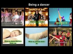 What people think dancers are like