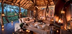 Madikwe Safari Lodge offers exclusive game lodge accommodation in the heart of South Africa's stunning Madikwe Game Reserve. African Interior, Game Lodge, Lodge Decor, Game Reserve, Luxury Accommodation, British Colonial, Suites, Cabana, Architecture
