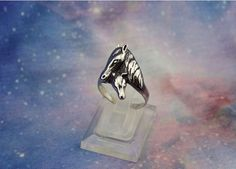 Crown Zircon Creative Decoration Ring Girl. Caoli Silver Rings