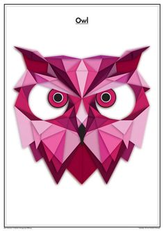 Geometric animals by Massimo Berti, via Behance