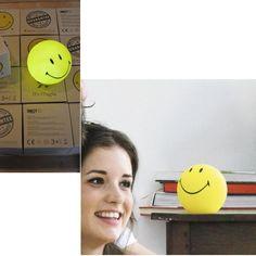 Mini Smiley Lamp | Unusual Gifts