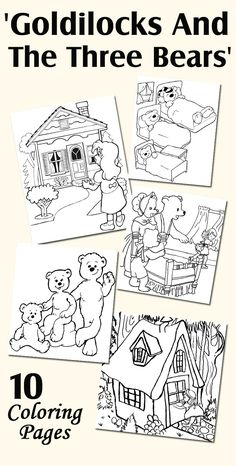 Top 10 Goldilocks And The Three Bears Coloring Pages Your Toddler Will Love