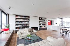 Penthouse in Berlin by HANSENWINKLER | HomeAdore  Well that's me done. I'm moving to Berlin.....