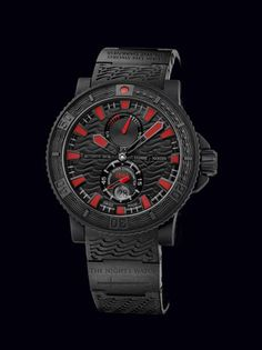 """""""night's watch"""" crafted by swiss watchmaker, ulysse nardin. limited edition of 25 priced at $10,500 each.  ...I wonder if lord tywin would cosign for me."""
