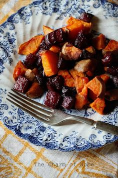 The Charm of Home: Roasted Sweet Potatoes and Beets