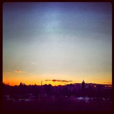 sunday sunset Berlin